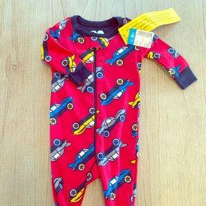 Little boy car onesie! Brand new footie pjs
